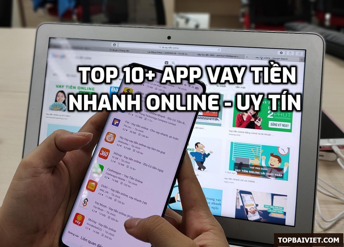 App Vay Tiền online mới uy tín, vay nóng nhanh