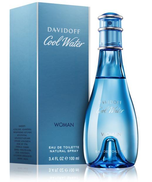 nước hoa Davidoff Cool Water Woman mang hơi thở đại dương