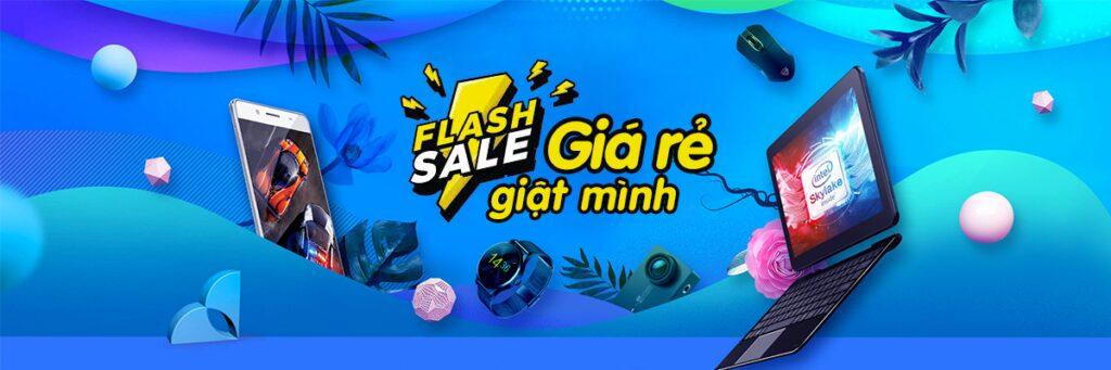 Một trong những cách mua sắm thông minh là canh Flash Sale