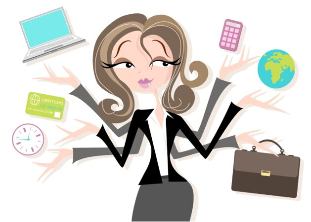 Phụ nữ thời đại 4.0 có thể hoàn thành nhiều công việc một cách hiệu quả