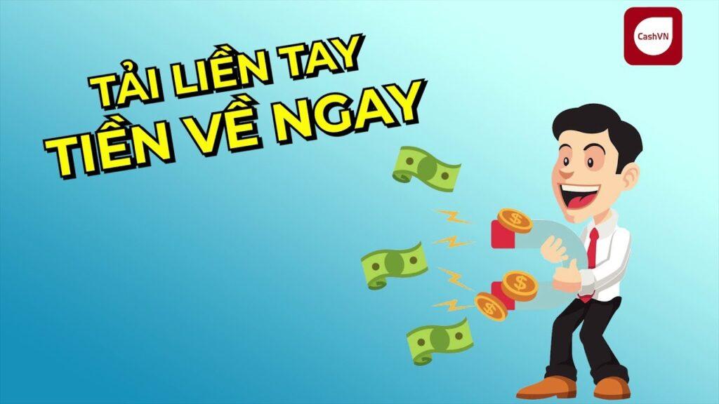 App cho vay tiền hỗ trợ nợ xấu CashVN