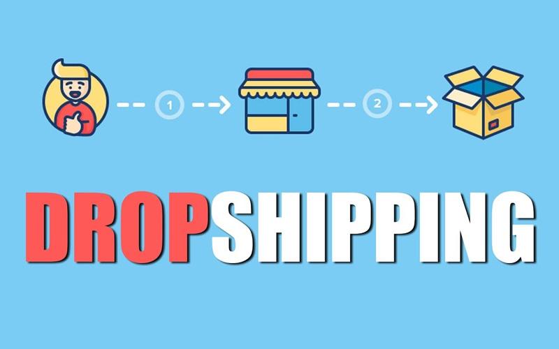 Mô hình cách kiếm tiền online tại nhà với dropshipping
