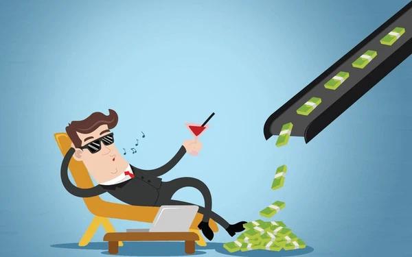 """Thu nhập thụ động giúp bạn không cần tốn nhiều công sức mà vẫn có số tiền """"đáng mơ ước"""" để trang trải cuộc sống."""