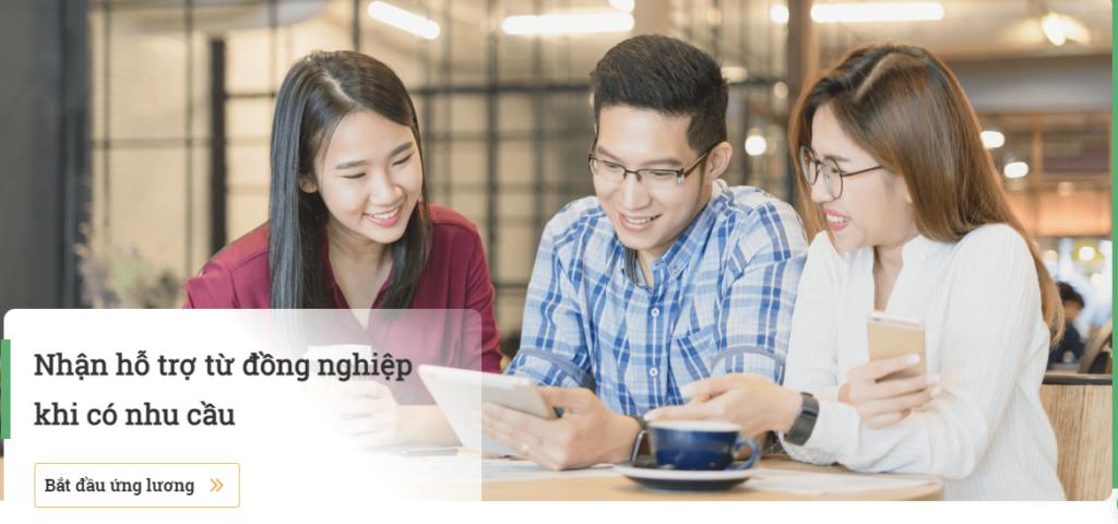 Lợi ích cho nhân viên khi ứng lương online
