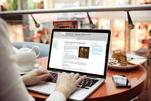 Nhập liệu online cho học sinh