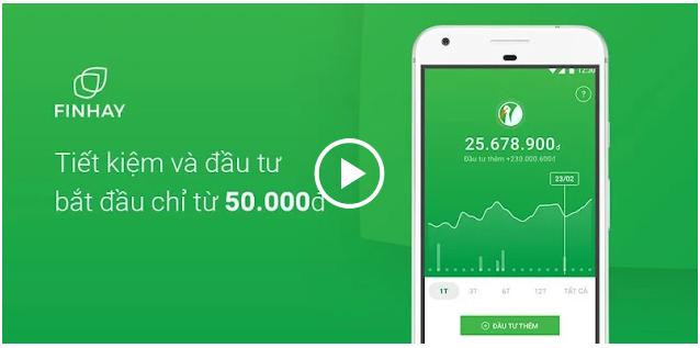 Web đầu tư tích lũy Finhay