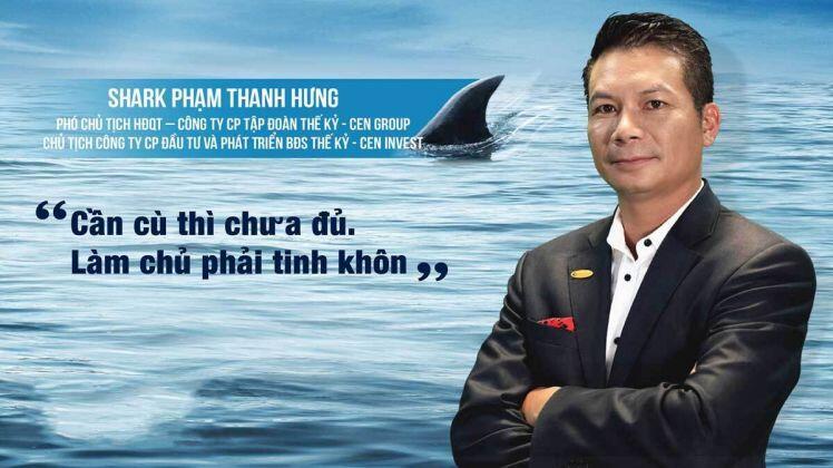 """Shark Hưng nhận xét về """"Khởi nghiệp từ khốn khó"""""""